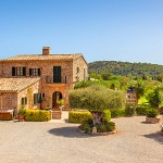 Finca Mallorca Pollensa 3437 - Grundstück