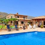 Finca Mallorca Pollensa 3437 - Haus und Pool