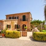 Finca Mallorca Pollensa 3437 - Hausansicht von vorne