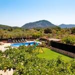 Finca Mallorca Pollensa 3437 - Panoramablick