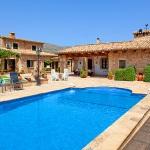 Finca Mallorca Pollensa 3437 - Pool mit Treppe