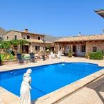 Finca Mallorca Pollensa 3437 - Poolbereich