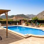 Finca Mallorca Pollensa 3437 - Poolterrasse
