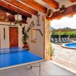 Finca Mallorca Pollensa 3437 - Tischtennisplatte