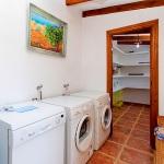 Finca Mallorca Pollensa 3437 - Waschmaschine