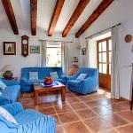 Finca Mallorca Pollensa 3437 - Wohnraum