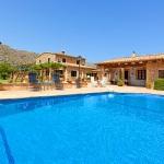 Finca Mallorca Pollensa 3437 - grosser Pool