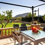 Finca Mallorca Pollensa 3437 - offene Terrasse