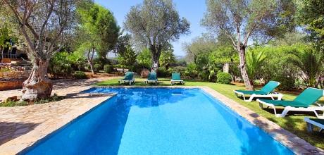 Mallorca Nordküste – Ferienhaus Pollensa 3365 mit Pool in idyllischer Lage, Grundstück 11.000qm, Wohnfläche 150qm. An- und Abreisetag nur Samstag. 2019 buchbar!