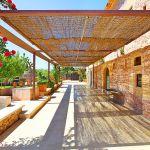 Luxus-Finca Mallorca MA3350 überdachte Terrasse
