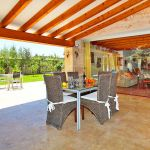 Luxus-Finca Mallorca MA3350 überdachte Terrasse (2)