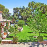 Luxus-Finca Mallorca MA3350 Blick in den Garten