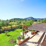 Luxus-Finca Mallorca MA3350 Dachterrasse mit Ausblick