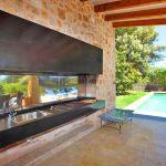 Luxus-Finca Mallorca MA3350 Grillecke mit Spüle