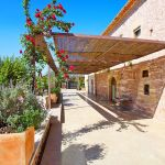 Luxus-Finca Mallorca MA3350 Laubengang