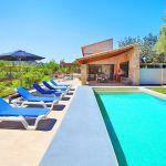 Luxus-Finca Mallorca MA3350 Liegen am Pool