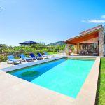 Luxus-Finca Mallorca MA3350 Poolbereich mit Gartenmöbeln