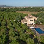 Luxusfinca Mallorca MA3260 Blick auf das Anwesen