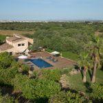 Luxusfinca Mallorca MA3260 Grundstück mit Orangenbäumen