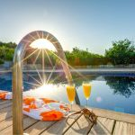 Luxusfinca Mallorca MA3260 Pool mit Leiter