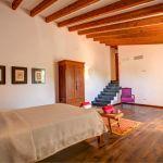 Luxusfinca Mallorca MA3260 Schlafraum mit Doppelbett