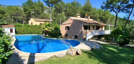 Mallorca Nordküste – Ferienhaus Sa Pobla 3031 mit großem Pool, Grundstück 2.100qm, Wohnfläche 130qm. Wechseltag flexibel – Mindestmietzeit 1 Woche