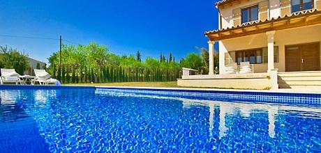 Mallorca Nordküste – Komfort Villa Selva 31005 mit Pool und Internet für 6 Personen, Wohnfläche 180qm. Wechseltag Samstag, Nebensaison flexibel auf Anfrage – Mindestmietzeit 1 Woche