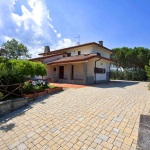 Ferienhaus Toskana TOH601 - Auffahrt zum Haus