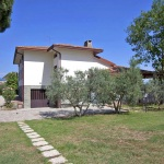 Ferienhaus Toskana TOH601 - Weg hinterm Haus