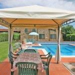 Ferienhaus Toskana TOH615 Esstisch am Pool