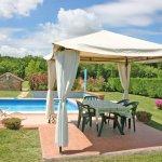 Ferienhaus Toskana TOH615 Pavillon mit Esstisch