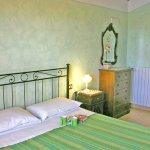 Ferienhaus Toskana TOH615 Schlafzimmer mit Doppelbett