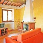Ferienhaus Toskana TOH615 Wohnraum mit TV