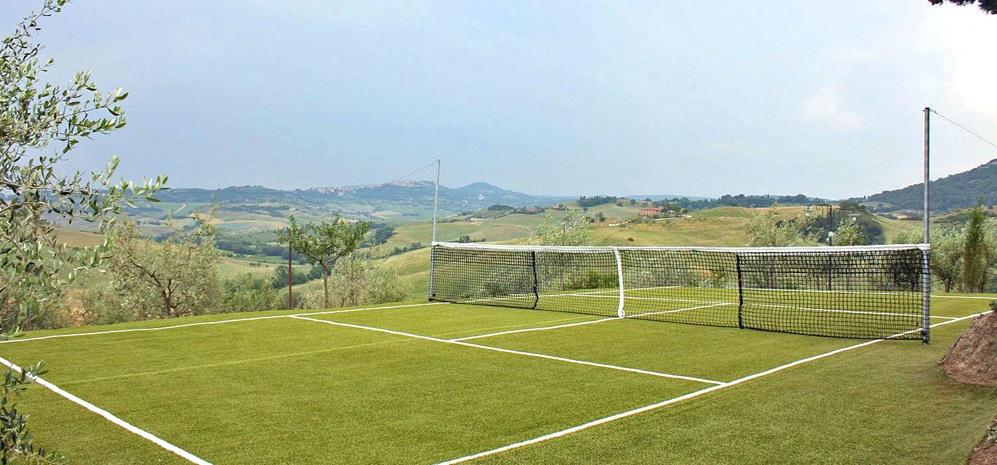 Toskana Ferienhaus TOH722 mit Tennisplatz und eigenem Pool