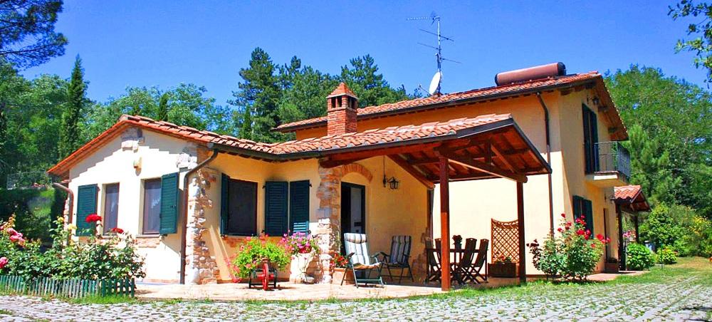 Toskana Ferienhaus TOH725 - Hausansicht