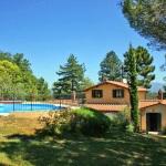 Ferienhaus Toskana TOH725 - Gartenanlage