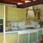 Ferienhaus Toskana TOH725 - Küche mit Ofen