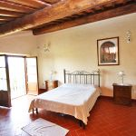 Ferienhaus Toskana TOH730 Schlafraum mit Doppelbett