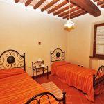 Ferienhaus Toskana TOH730 Zweibettzimmer
