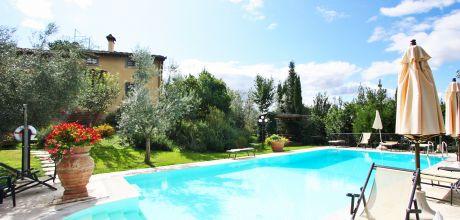 Ferienhaus Toskana Castiglion Fiorentino 730 mit Pool und Tennisplatz, kostenlose Stornierung bis 45 Tage vor Anreise für alle Neubuchungen, Wechseltag flexibel – Mindestmietzeit 1 Woche.