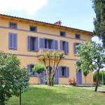 Ferienhaus Toskana TOH735 - Garten mit Blick auf das Haus