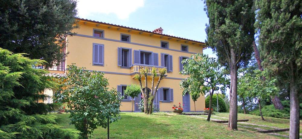 Toskana Ferienhaus TOH735 - Gartenanlage