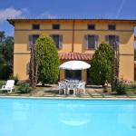 Ferienhaus Toskana TOH735 - Pool mit Blick auf das Haus