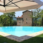 Ferienhaus Toskana TOH745 - Pool mit Liegestühlen