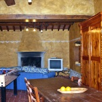 Ferienhaus Toskana TOH745 - Wohnraum mit Kicker