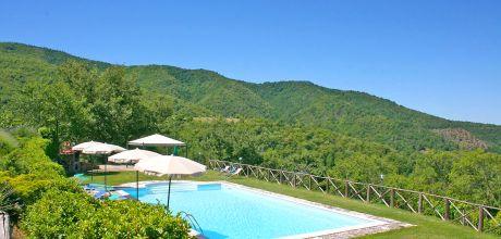 Ferienhaus Toskana Poggioni 765 für 16 Personen mit privatem Pool, kostenlose Stornierung bis 45 Tage vor Anreise für alle Neubuchungen, Wechseltag Samstag, Nebensaison flexibel auf Anfrage.
