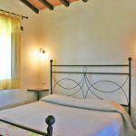 Ferienhaus Toskana TOH765 Schlafzimmer mit Doppelbett