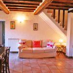 Ferienhaus Toskana TOH765 Wohnbereich mit Sofa