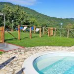 Ferienhaus Toskana TOH765 Zaun um den Pool