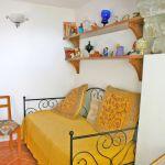 Ferienhaus Toskana TOH840 Bett im Schlafraum